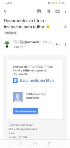 editar documentos entre varias personas correo