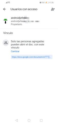 editar documentos entre varias personas link publico