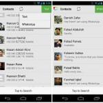 Disa: Mensajes de Whatsapp y SMS combinados en un mismo lugar