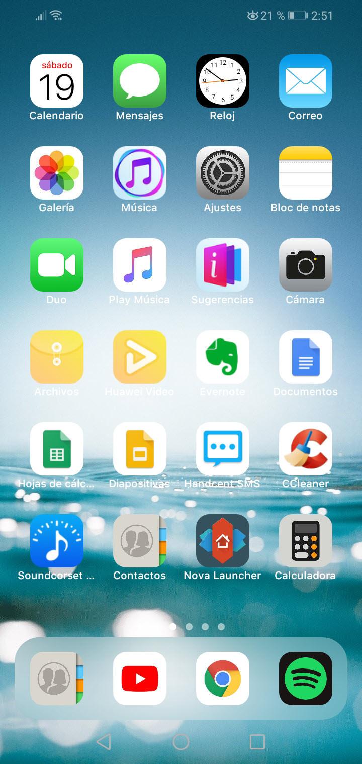Convierte tu Android en un iPhone con el Launcher iOS 14