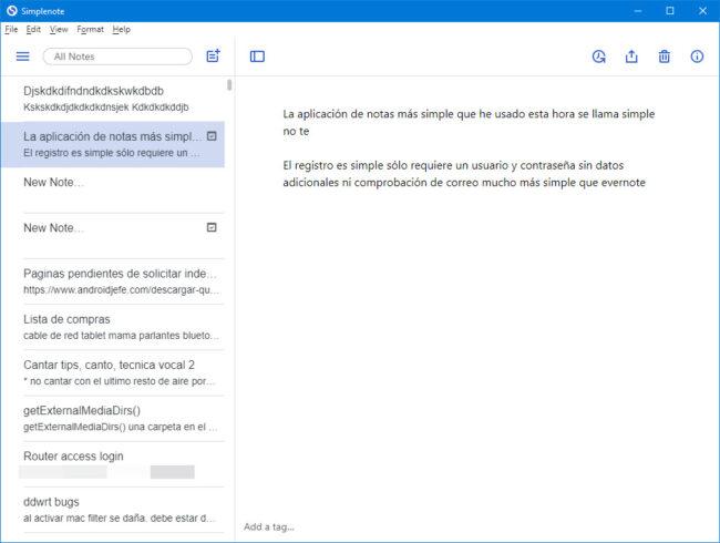 simplenote windows