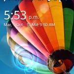 Galaxy S4 Lockscreen lleva diseño del móvil Samsung a tu Android, sin rootearlo