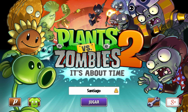 Plants vs Zombies 2: Descargar de Google Play gratis (+APK Full)