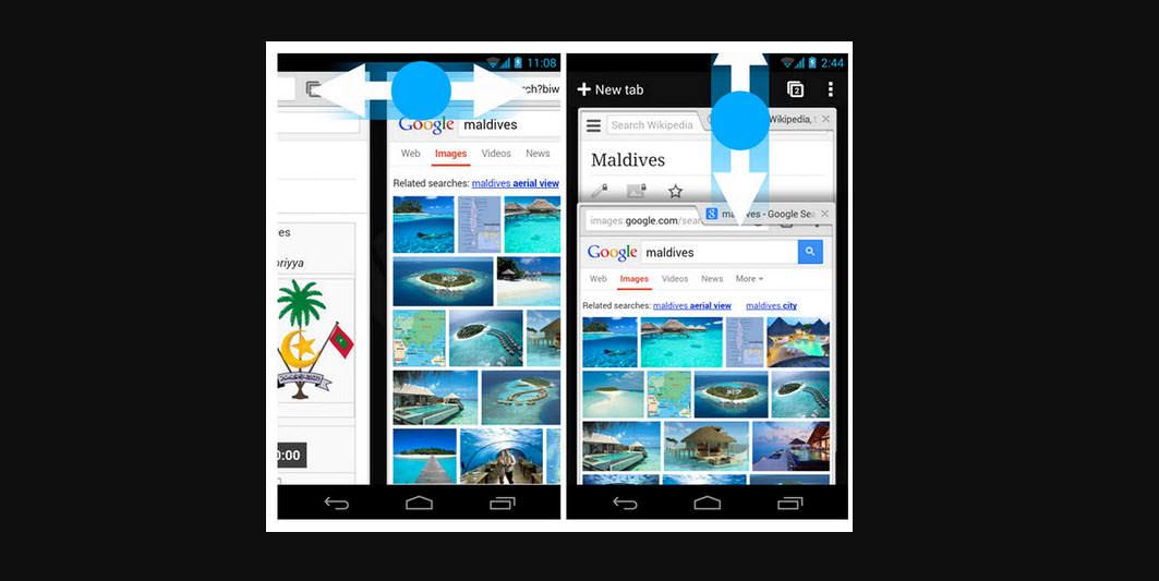 7 gestos para usar Google Chrome más rápido en Android