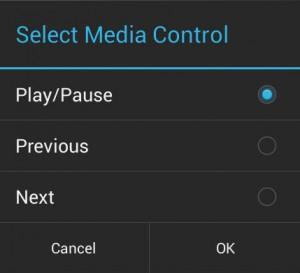 Media Control Play Pause MacroDroid