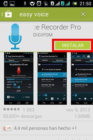 Re instalar aplicacion comprada en Google Play