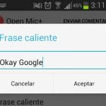 """Cómo activar Google Now con """"OK Google"""" en cualquier Android, con Open Mic+"""