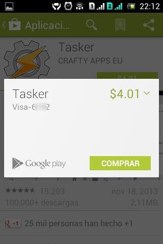 Volver a comprar aplicacion en Google Play