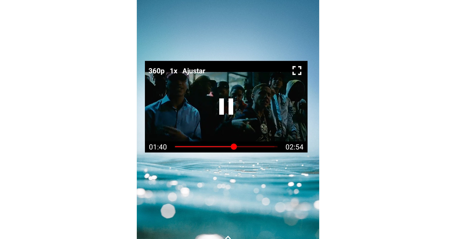 Cómo ver YouTube en modo ventana o emergente con NewPipe