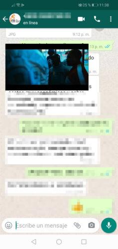 youtube emergente whatsapp