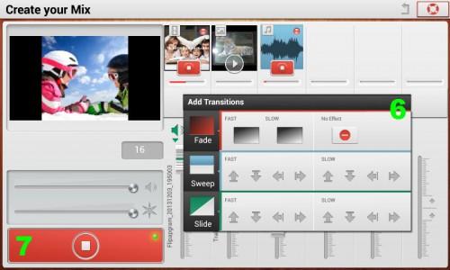 Agregar efectos a vídeo trakax