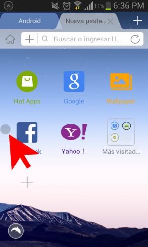 Apagar pantalla acceso directo dentro de aplicación - 2