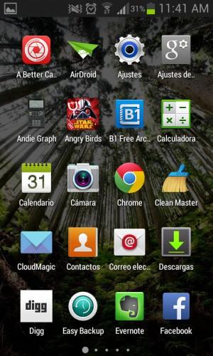 Cajón de aplicaciones GEL 0.10.9