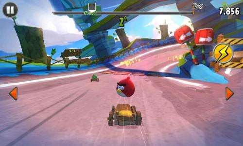 Carrera Angry Birds go