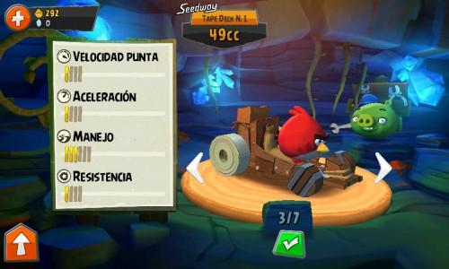 Carro Angry Birds Go