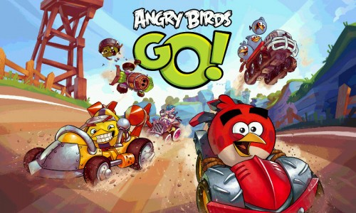 Inicio Angry birds Go