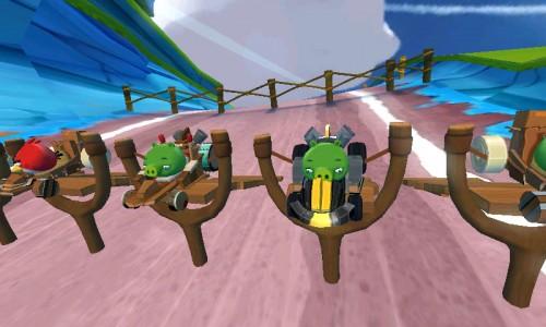Inicio carrera Angry Birds Go