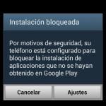 Instalación BLOQUEADA de aplicaciones en Android: Por qué y cómo desbloquear