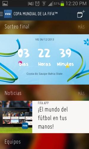 Noticias sobre el mundial - FIFA para Android