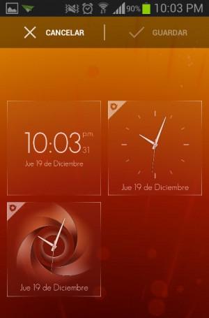 Reloj Timely