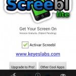 Screebl hace más inteligente la pantalla de Android