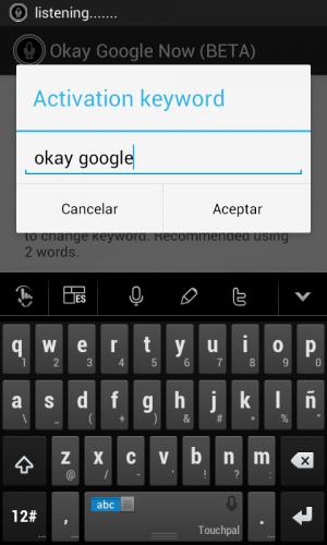 Okay Google Keyword