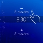 Alarma despertador de tono SUAVE y agradable