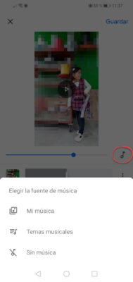 crear videos con fotos google fotos edicion musica