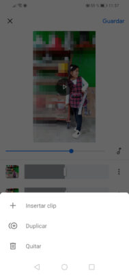 crear videos con fotos google fotos editar clips