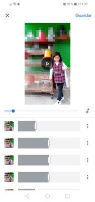crear videos con fotos google fotos editar clips 2