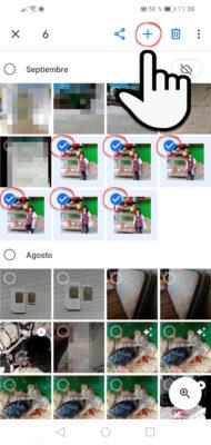 crear videos con fotos google fotos paso 1