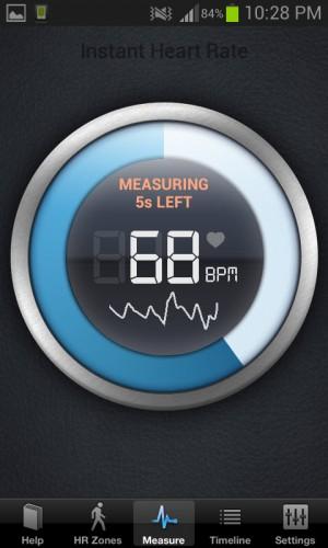 medir pulso instant heart
