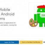 """Curso online gratis de programación Android, """"por la UMD"""", para Enero del 2014"""