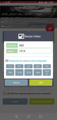 rescalar video format factory