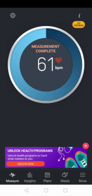 ritmo cardiaco app
