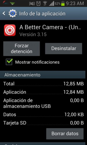 Mostrar notificaciones android
