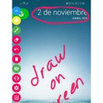 dibujar sobre la pantalla celular promo