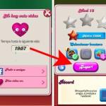 Time travel: Cómo conseguir vidas en Candy Crush Android, rápidamente