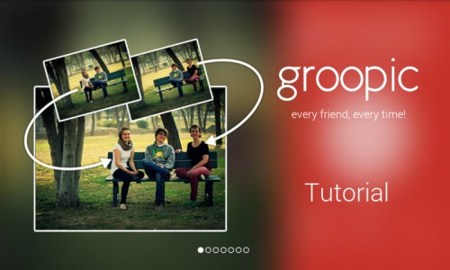 Groopic tutorial