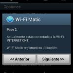 Wifi Matic: Desconectar y conectar automáticamente el Wifi en Android