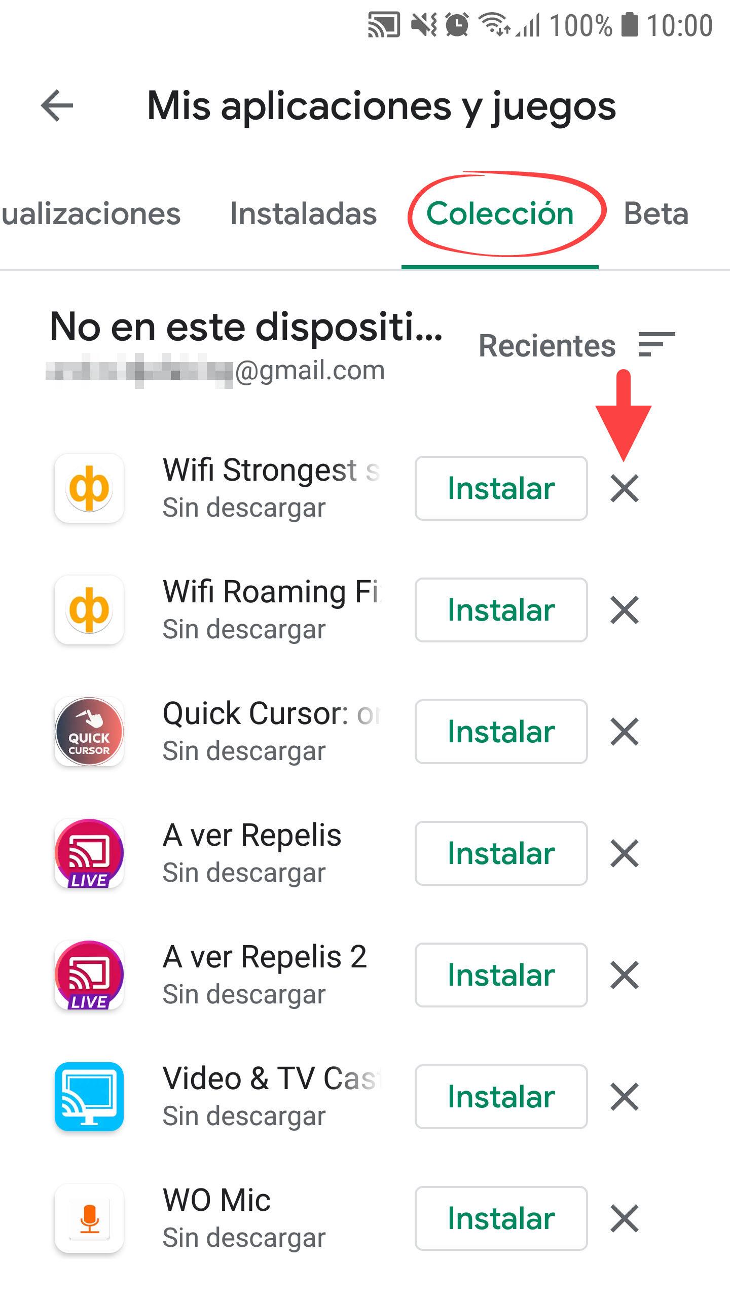 Eliminar Historial De Aplicaciones Instaladas De Google Play Store