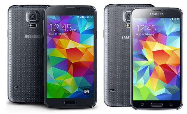 Samsung Galaxy S5 clon, réplica «exacta» y barata aparece 48 horas después