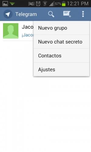 tipos de chat telegram