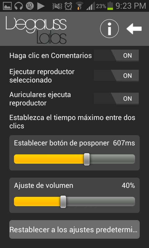 Headset Control Center: Configurar botones de auriculares con funciones extra
