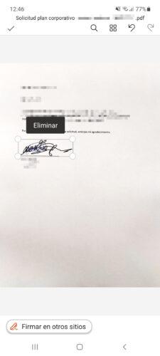 firmar documentos sin escanear