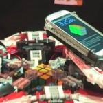 Cerebro del Galaxy S4 y brazos de LEGO rompen récord en solucionar Cubo de Rubik