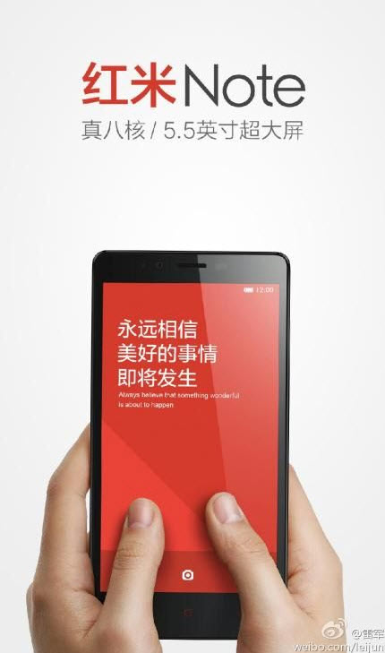 redmi note xiaomi