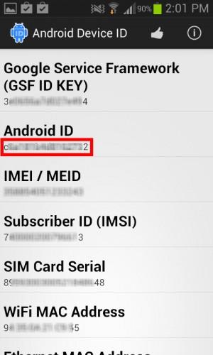 """Android ID, entre otros """"seriales"""" del celular"""
