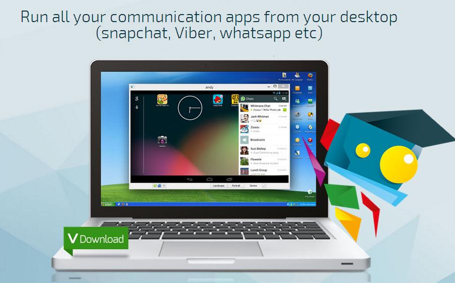 Andy, emulador Android en Windows (Tutorial, Requisitos + ADVERTENCIA!)