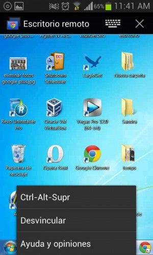 chrome remote desktop android